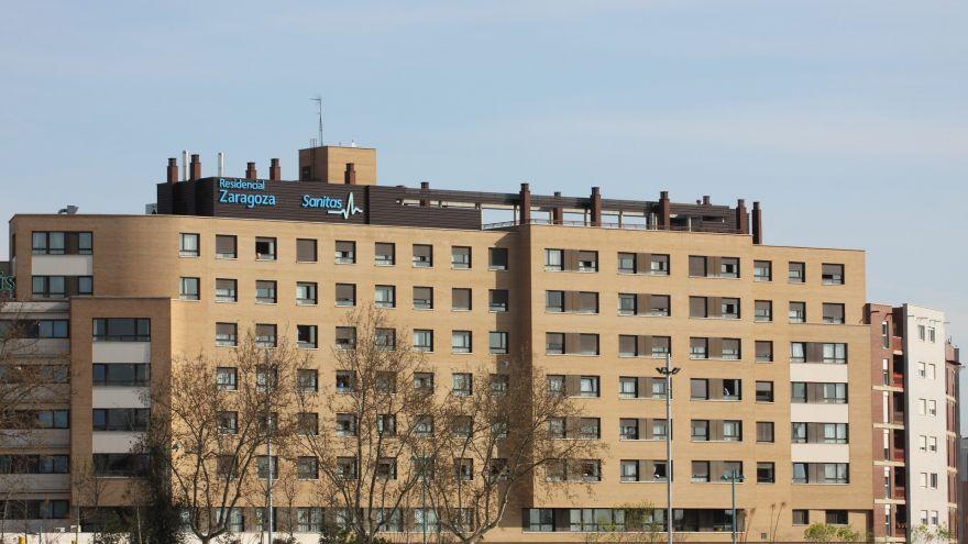 centro residencial zaragoza sanitas