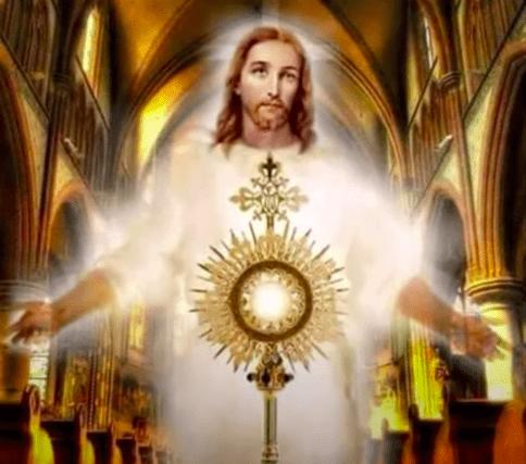 Oración Al Santísimo Sacramento Del Altar Para Pedir En Casos Difíciles 1