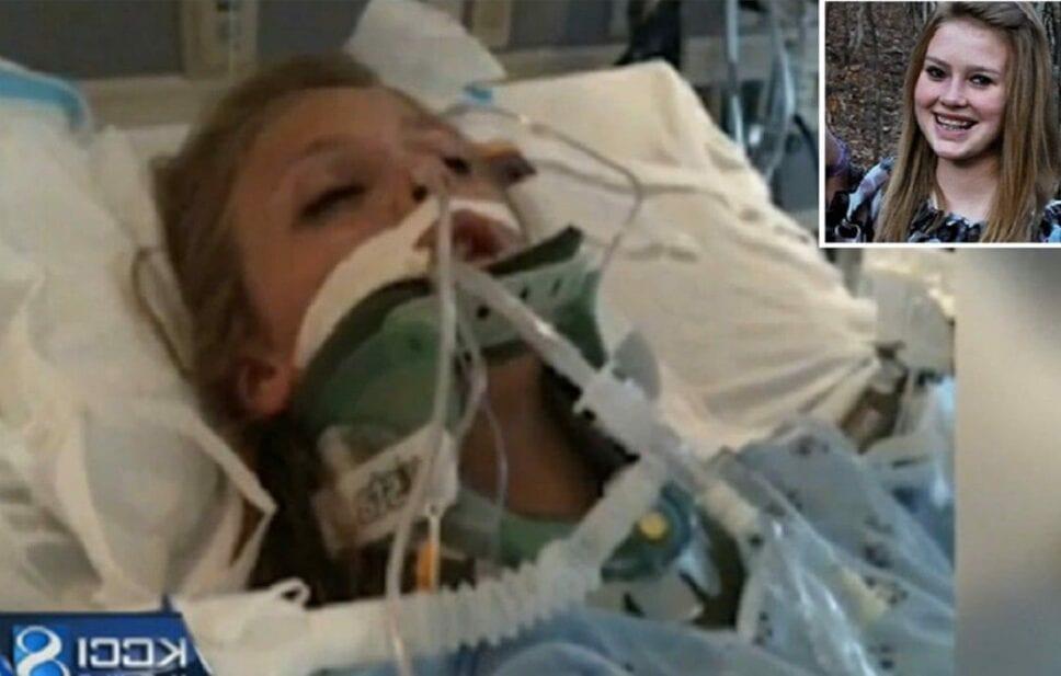 Su familia rezó por ella y despertó del coma 1